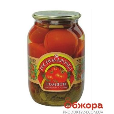 Томаты Господарочка консервированные с зелен 1020 г – ИМ «Обжора»
