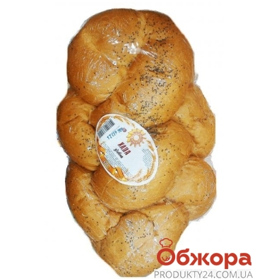 Хлеб Хала сдобная Золотое зерно Украины 500 г – ИМ «Обжора»