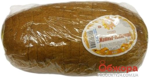 """Хлеб Ржано-пшеничный """"Золотое зерно Украины"""" нарезной 500г – ИМ «Обжора»"""