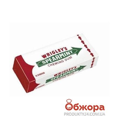 Жевательная резинка Ригли Сперминт (15 пластинок) – ИМ «Обжора»