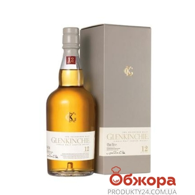 Виски Гленкинчи 12 лет 0,75 л. 43% (кор.) – ИМ «Обжора»