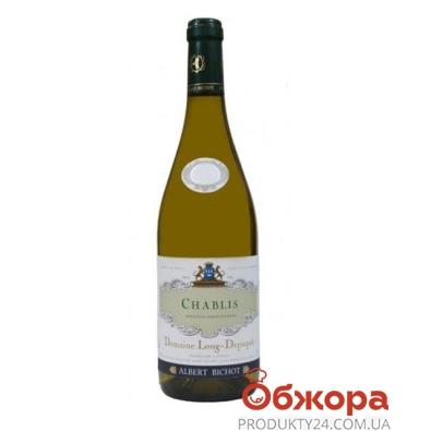 Вино Домен Лон-Депаки (Domaine Long-Depaquit ) Шабли 0,75 л – ИМ «Обжора»