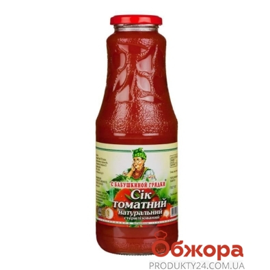 """Сок """"С бабушкиной грядки"""" томатный  1 л. – ИМ «Обжора»"""