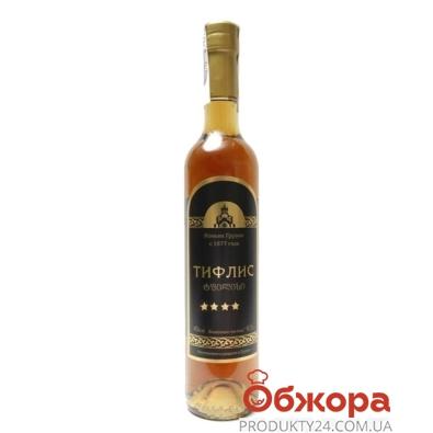Коньяк Тифлис 4* 0,5л – ИМ «Обжора»