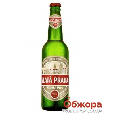 Пиво Злата Прага (Zlata Praha) 0,5 л – ИМ «Обжора»