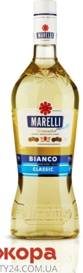 Вермут Марелли (Marelli) Бьянко классик белый десертный 0,5 л – ИМ «Обжора»