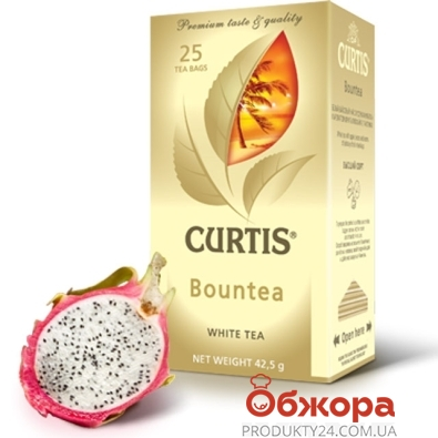 Чай Кертис (Curtis) Bountea белый чай 100 г – ИМ «Обжора»