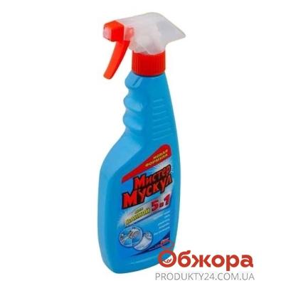 Спрей Мистер Мускул (Mr Muscle) для ванной 5 в 1 Триггер 500 мл – ИМ «Обжора»