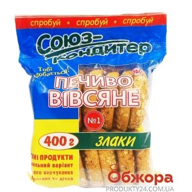 Печенье Союз-кондитер овсяное со злаками 400 г – ИМ «Обжора»