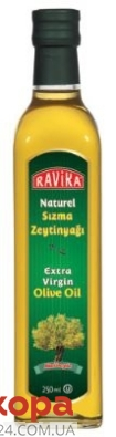 Оливковое масло Равика (Ravika) extra virgen 0,25 л – ИМ «Обжора»