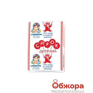 Сырок Славяночка 90 г 15% – ИМ «Обжора»