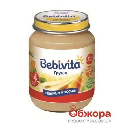 Пюре Бебивита Груша 100 г – ИМ «Обжора»