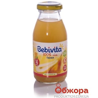 Сок Бебивита (Bebivita) груша 200 мл – ИМ «Обжора»
