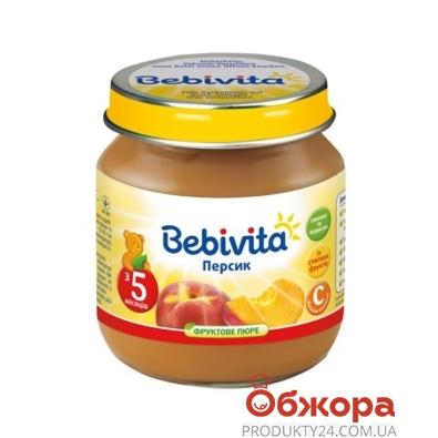 Пюре Бебивита (Bebivita) Персик 100 г – ИМ «Обжора»