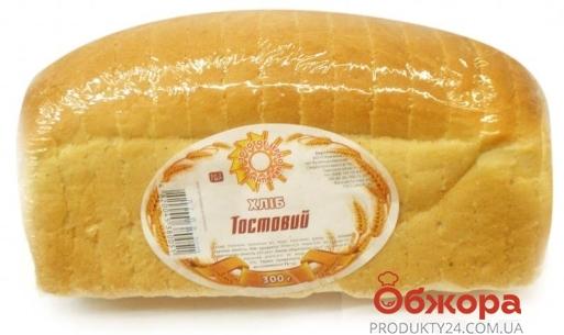 """Хлеб Тостовый """"Золотое зерно Украины"""" 600г – ИМ «Обжора»"""
