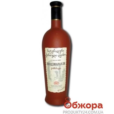 """Вино грузинское D&T """"Киндзмараули"""" 0.75 л. керамческая бутылка – ИМ «Обжора»"""