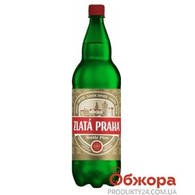 Пиво Оболонь Zlata Рraha 1 л. – ИМ «Обжора»