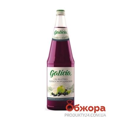 Сок  Галичия (Galicia) яблочно-черносмородиновый  неосвет.1л – ИМ «Обжора»
