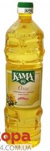 Подсолнечно-оливковое масло Кама 1 л – ИМ «Обжора»