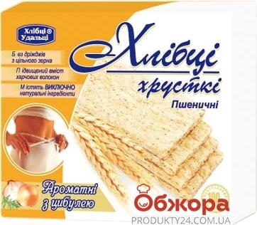 Хлебцы Удальцы Пшеничные с Луком 100г Новинка – ИМ «Обжора»