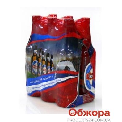 Пиво Черниговское светлое пакет 6 шт*0,5 л – ИМ «Обжора»