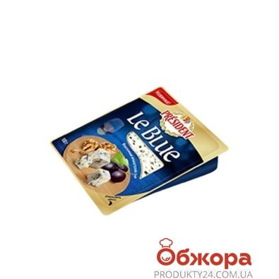 Сыр с плесенью Президент Ле блю 50% 100 г – ИМ «Обжора»