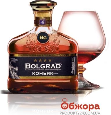 Коньяк Болград (Bolgrad) 4* 0,5 л. – ИМ «Обжора»
