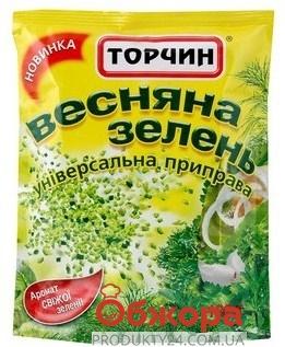 Приправа Торчин Весенняя зелень 35 г – ИМ «Обжора»