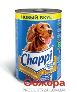 Корм Чаппи (Chappi) мясное изобилие 400 г – ИМ «Обжора»