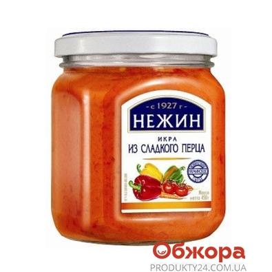 Икра из сладкого перца Нежин 450 мл – ИМ «Обжора»