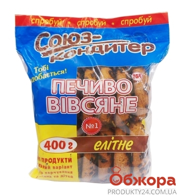 Печенье Союз-кондитер овсяное элитное 400 г – ИМ «Обжора»