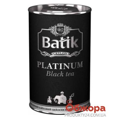 Чай Батик (Batik) Платинум черный 100 г – ИМ «Обжора»