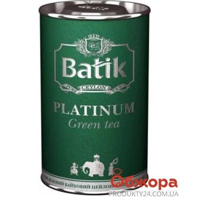 Чай Батик (Batik) Платинум зелёный 100 г – ИМ «Обжора»