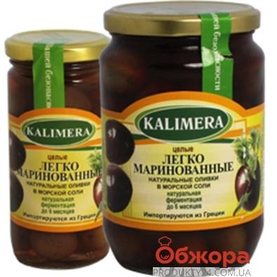 Оливки Калимера (KALIMERA) маринованные  с косточкой  большие 370 гр. – ИМ «Обжора»