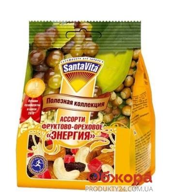 Фруктово-ореховая смесь Санта Вита (SantaVita) Ассорти Энергия 200г – ИМ «Обжора»
