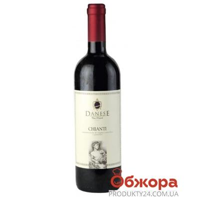 Вино Данезе (Danese) СHIANTI красное сухое 0,75 л. – ИМ «Обжора»