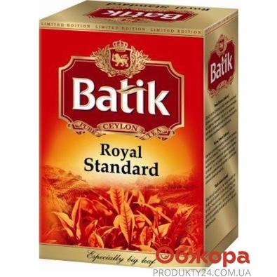 Чай Батик Королевский стандарт черный 85 г – ИМ «Обжора»