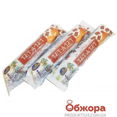 Печенье Загода Тет-а-Тет шоколад 75 г – ИМ «Обжора»