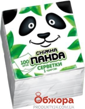 Салфетки Снежная Панда 100 шт. – ИМ «Обжора»