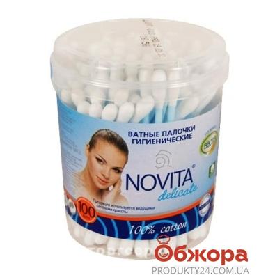 Ватные палочки Новита (Novita) 100 шт – ИМ «Обжора»