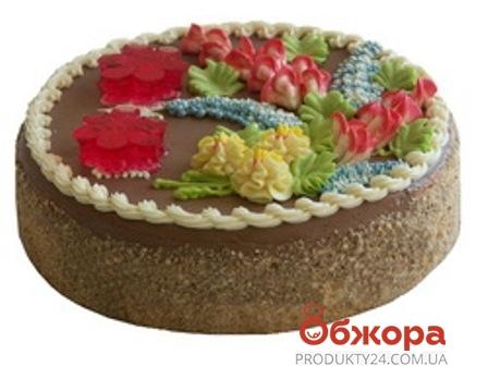 Торт БКК(Булочно-кондитерский комбинат) Киевский 500 г – ИМ «Обжора»