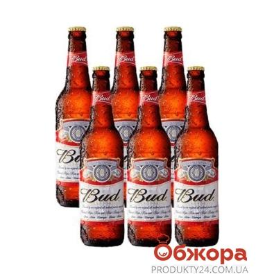 Пиво Бад (Bud) 6*0.5 промопак – ИМ «Обжора»