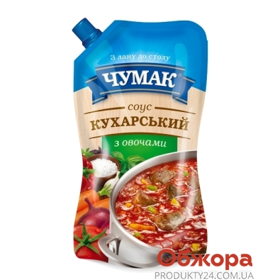 """Соус Чумак """"Кухарский"""" с овощами 450г – ИМ «Обжора»"""