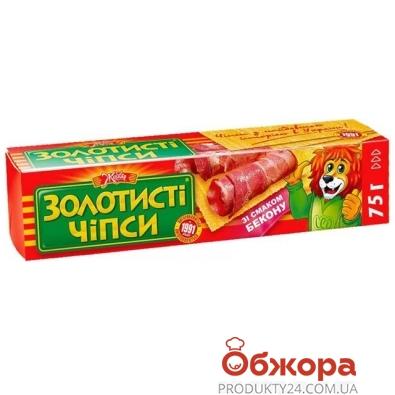 """Чипсы Жайвир """"Золотистые"""" бекон 75 гр. – ИМ «Обжора»"""
