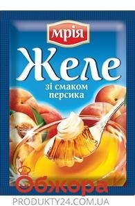 Желе Мрия персик 90г – ИМ «Обжора»