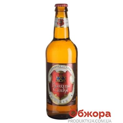 """Пиво Микулин """"Koruna Ceska"""" 0.5л – ИМ «Обжора»"""