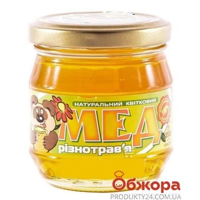 Мед Нектар разнотравье 250 г – ИМ «Обжора»