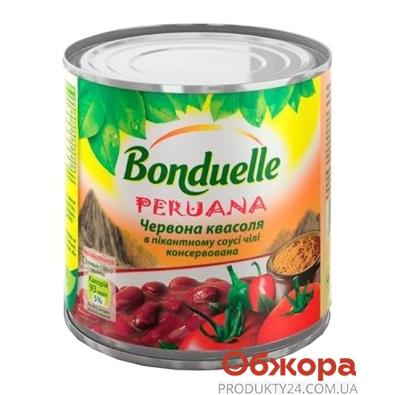 Фасоль Бондюэль (Bonduelle) красная в соусе Чили 430 г – ИМ «Обжора»