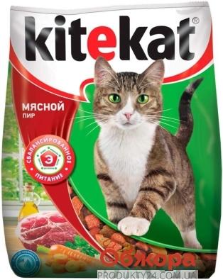 Корм Китикет (Kitekat) Мясной банкет 1 кг – ИМ «Обжора»