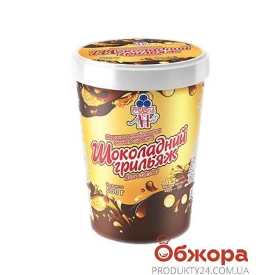 Мороженое Рудь Шоколадный грильяж ведро 500г – ИМ «Обжора»
